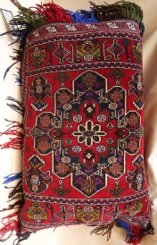 R4411 Afghan Carpet Floor Cushion Cover