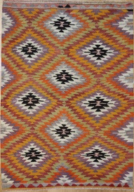 R6408 Afyon Turkish Kilim