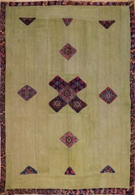 R3759 Anatolian Carpet Patchwork