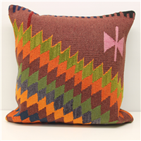 XL374 Anatolian Kilim Cushion Cover