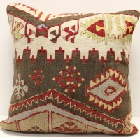Anatolian Kilim Cushion Cover L573