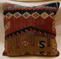 Anatolian Kilim Cushion Cover XL115