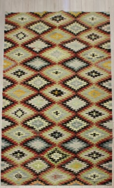 R6357 Antique Afyon Kilim Rug
