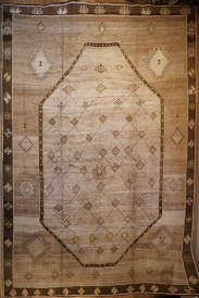R4466 Antique Bakhshaish Persian Carpet