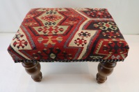 R7017 Antique Kilim Footstool