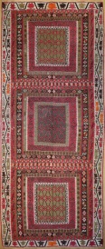R4959 Antique Kilim Rug