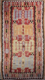 R6820 Antique Turkish Kilim Rug