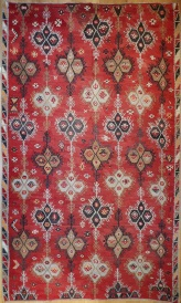 R6330 Antique Large Kilim Rug