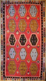 R7632 Antique Large Kilim Rugs