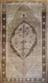 R4463 Antique Persian Carpet