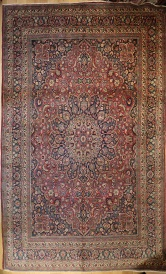 R4980 Antique Persian Tabriz Carpet