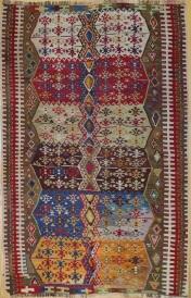 F1620 Antique Sivas Kilim Rug
