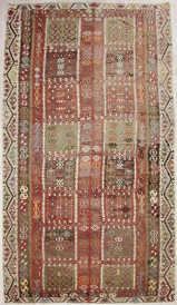 R4306 Antique Turkish Kayseri Kilim