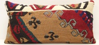 D104 Antique Turkish Kilim Cushion Cover