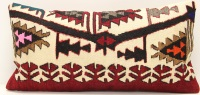 D110 Antique Turkish Kilim Cushion Cover