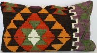 D114 Antique Turkish Kilim Cushion Cover