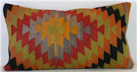 D120 Antique Turkish Kilim Cushion Cover
