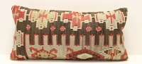 D40 Antique Turkish Kilim Cushion Cover