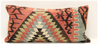D64 Antique Turkish Kilim Cushion Cover