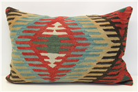 D58 Antique Turkish Kilim Pillow Cover