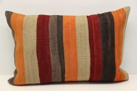 D272 Antique Turkish Kilim Pillow Cover