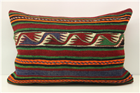 D404 Antique Turkish Kilim Pillow Cover