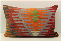 D407 Antique Turkish Kilim Pillow Cover