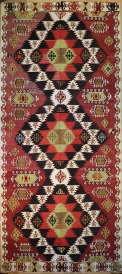 R9133 Antique Turkish Kilim Rugs
