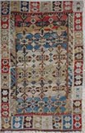 R6907 Antique Turkish Konya Kilim Rug