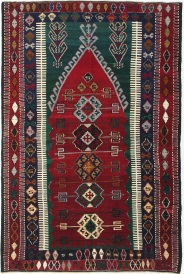 R6424 Antique Turkish Konya Obruk Kilim