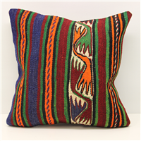 Beautiful Hand Woven Turkish Kilim Cushion Cover M1576