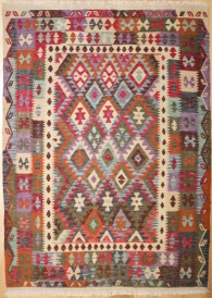 R8876 Beautiful New Afghan Kilim Rugs