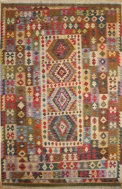 R8878 Beautiful New Afghan Kilim Rugs
