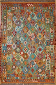 R9280 Beautiful New Afghan Kilim Rugs