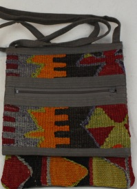 Beautiful Turkish Kilim Handbag H100