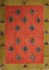 R3143 Turkish Carpet Patchwork