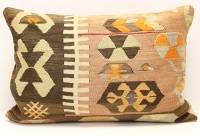 D308 Turkish Kilim Pillow Cover