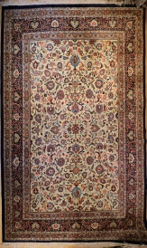 R6062 Fine Persian Kashan Carpet