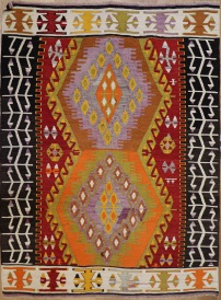 R9169 Flat Weave Turkish Kilim rugs