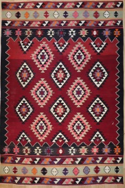 R9185 Flat Weave Turkish Kilim rugs
