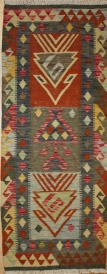 R9114 Gorgeous New Afghan Kilim Runners