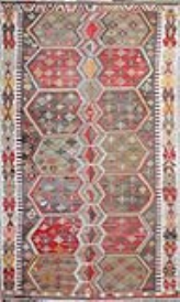 R6367 Antique Turkish Gurun Kilim Rug