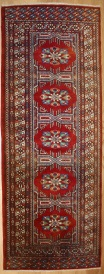 Hand Knotted Bokhara Runner R7715