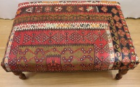 R4006 Handmade Table Kilim Stool
