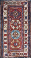 F1500 Antique Caucasian Kazak Carpet