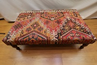 R3991 Large Kilim Covered Coffee Table