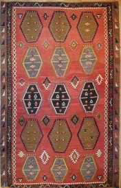 R7675 Large Turkish Kilim Rug