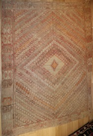 R4619 Large Turkish Sarkisla Kilim Rug