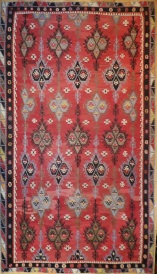 R8031 Large Turkish Sarkisla Kilim Rug