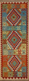 R6237 New Afghan Kilim Runner